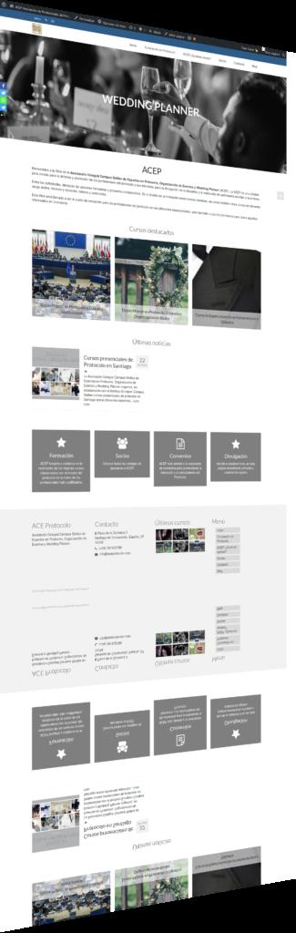 Nueva Web de la ACEP